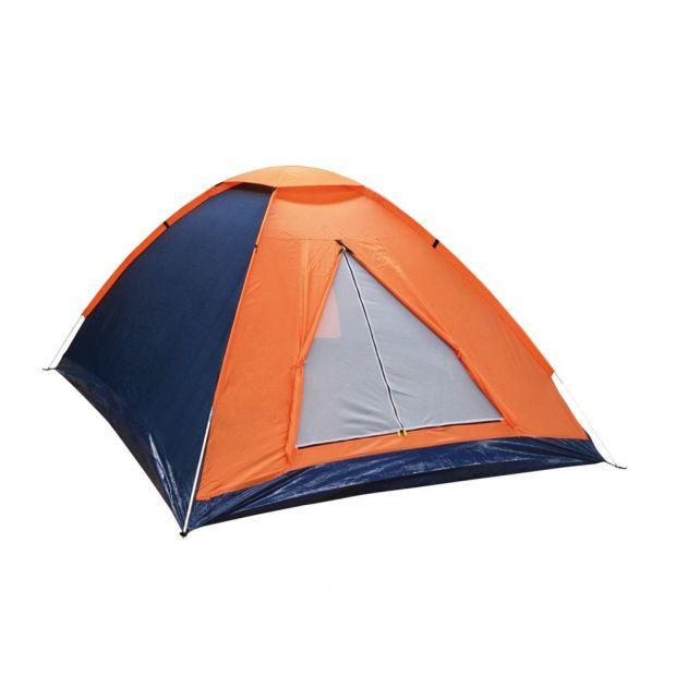 Barraca Camping para até 2 Pessoas Azul/Laranja PANDA 2 NTK Nautika