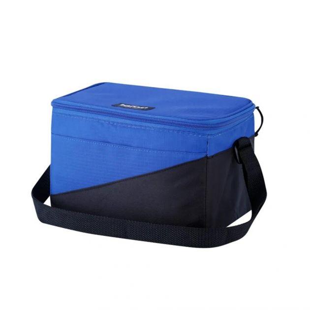Bolsa Térmica 9 Litros Grafite/Azul TECH SOFT 12 IGLOO
