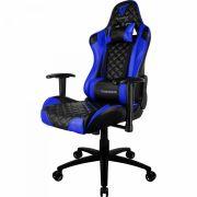 Cadeira Gamer Profissional Preta/Azul TGC12 THUNDERX3