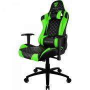 Cadeira Gamer Profissional Preta/Verde TGC12 THUNDERX3