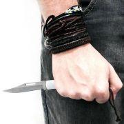 Canivete com Trava de Segurança e Lâmina Tipo Turca INDIAN NTK Nautika
