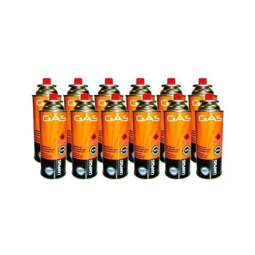 Cartucho de Gás CAMPGAS com Válvula de Segurança NTK Nautika - Kit com 12 Unidades