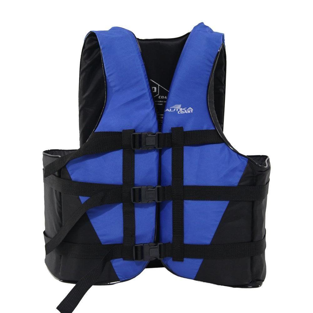 Colete Salva-Vidas Anatômico Até 60Kg para Esportes Aquáticos COAST NTK Nautika