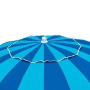 Guarda Sol em Alumínio/Poliéster Articulável 2,20m FPS 100 Azul SKY MOR
