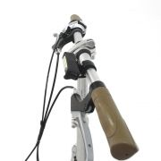 Lanterna para Bike 150 Lumens Recarregável Preta APUS AZTEQ