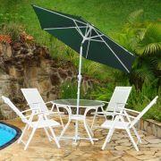 Ombrelone para Jardim em Alumínio com Anti UV MILANO 270 Garden by NTK Nautika