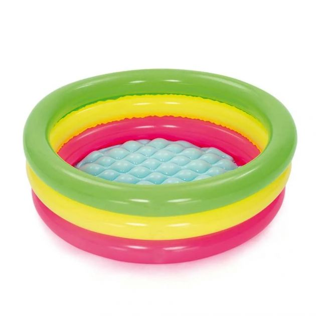 Piscina Inflável Infantil de Gomos 41 Litros Colorida SUMMER SET BESTWAY