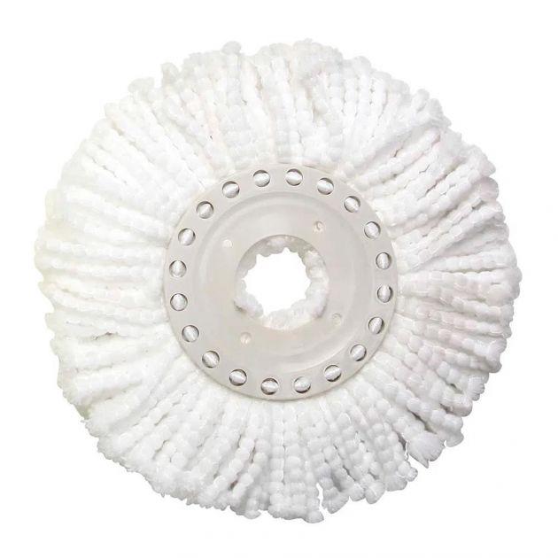 Refil Esfregão para Mop Limpeza Prática Branco MOR
